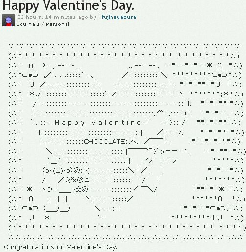 Cake Ascii Art : Ascii Art Happy Cake Ideas and Designs
