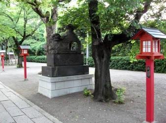 WASINOMIYA JINJA No.3 koma-inu by fujihayabusa
