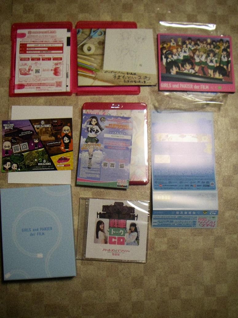 Girls und Panzer der film Blu-ray disc No.2 by fujihayabusa