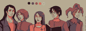 Medieval Group by Ryuki-Chinto