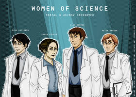 Women Of Science: Crossover by Ryuki-Chinto
