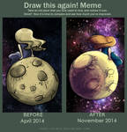 Draw This Again! :: The Moon