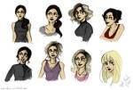 Many faces of Electra Heart