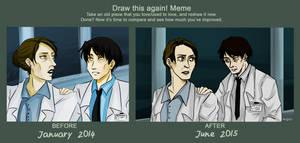 Draw this again! : Last Warning by Ryuki-Chinto