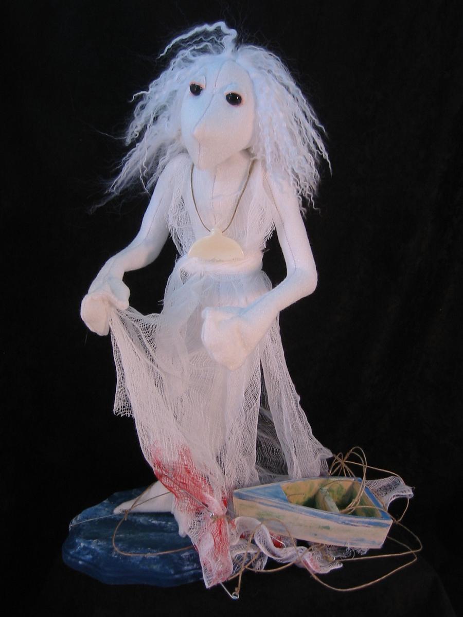 Moby Dick Art Doll by leloi