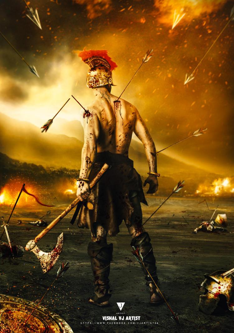 Barbarian Warrior by vishalvj