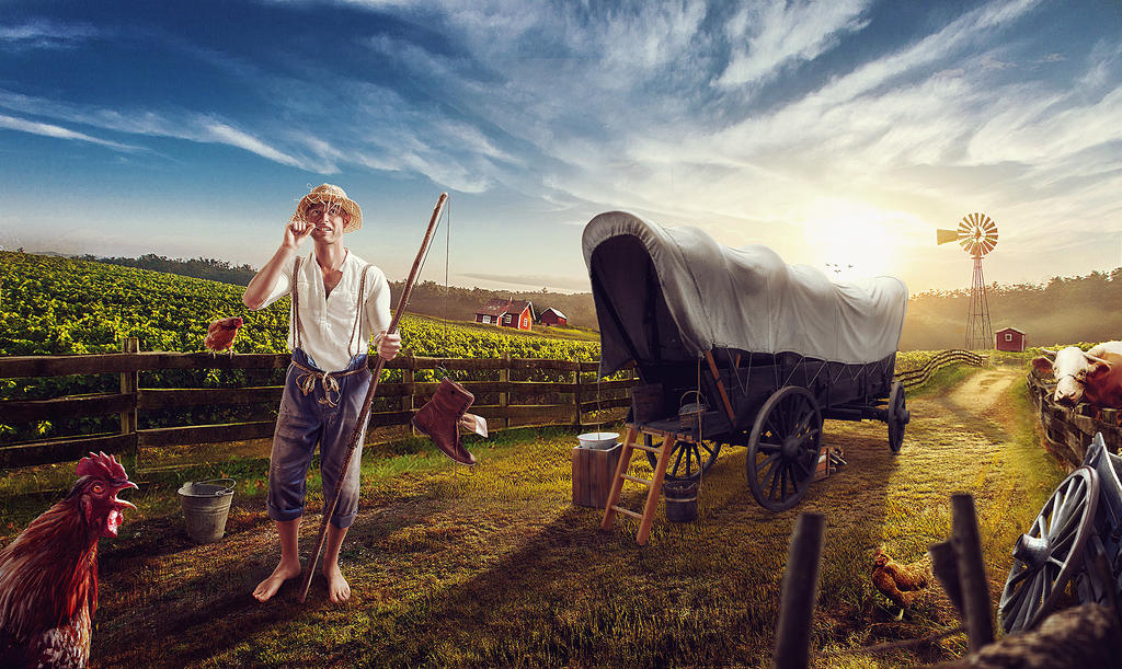 Farmer Barn by vishalvj
