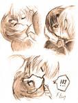 AyaTei - kissing practice