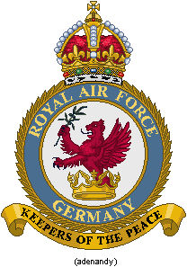 RAF Commands - Germany