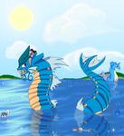 Gyarados Summer Swim