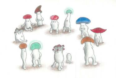 Mushrooms in a Ring