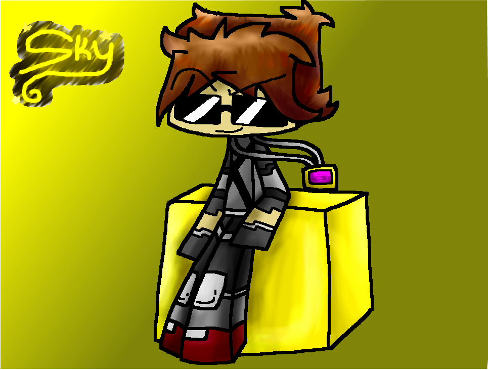 Skydoesminecraft by MetaT0shi