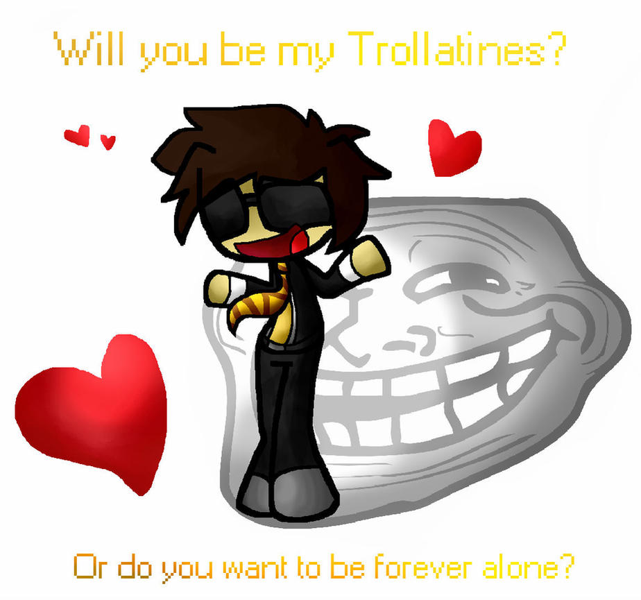 Bodil40: Will you be my Trollatine? by M3taT0shi on DeviantArt