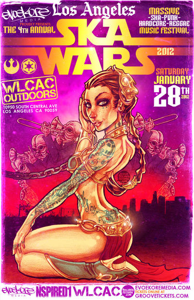 SKA WARS 2012 by benestrada