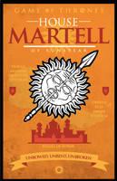 Game of Thrones - House Martell by GoJoeThibaultGo