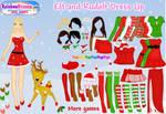 .: Elf and Rudolf DressUp :.