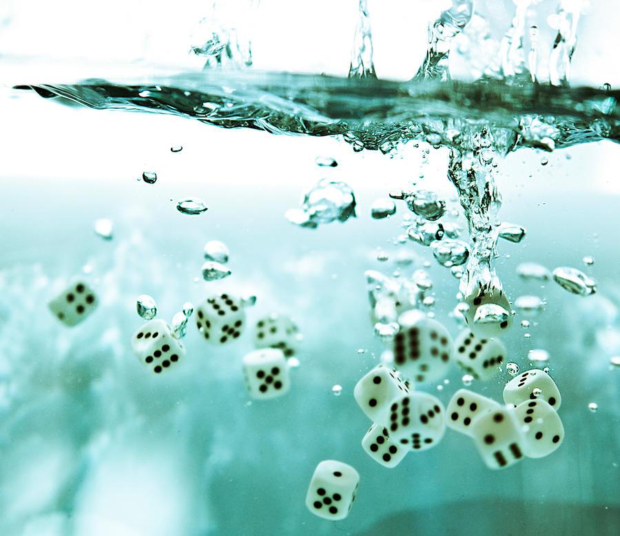Splashing Dice I