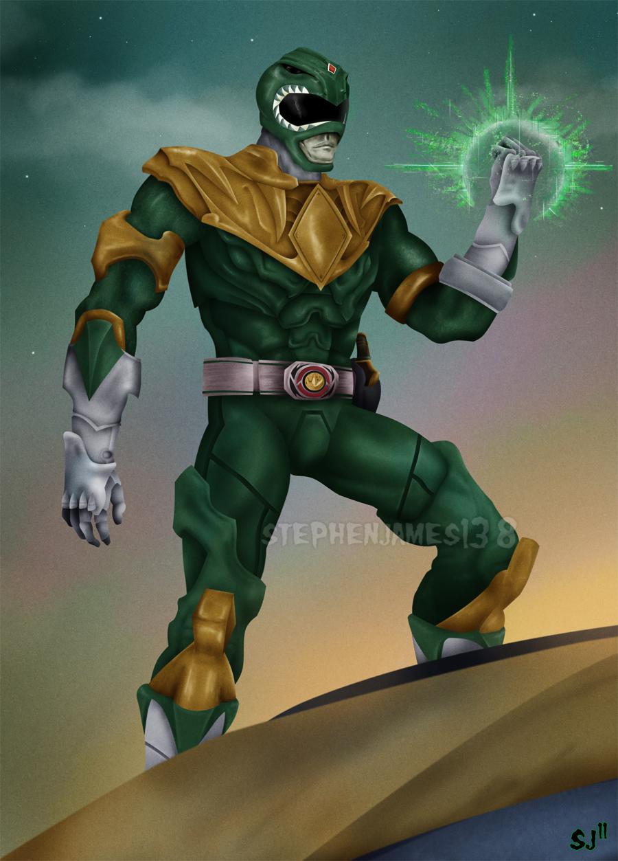 Go Green Ranger Go. by StephenJames138