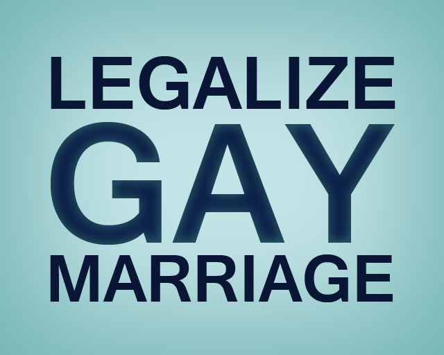 Help Legalize Gay Marriage 9