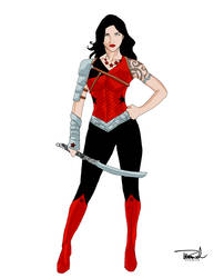 Donna Troy Redesign