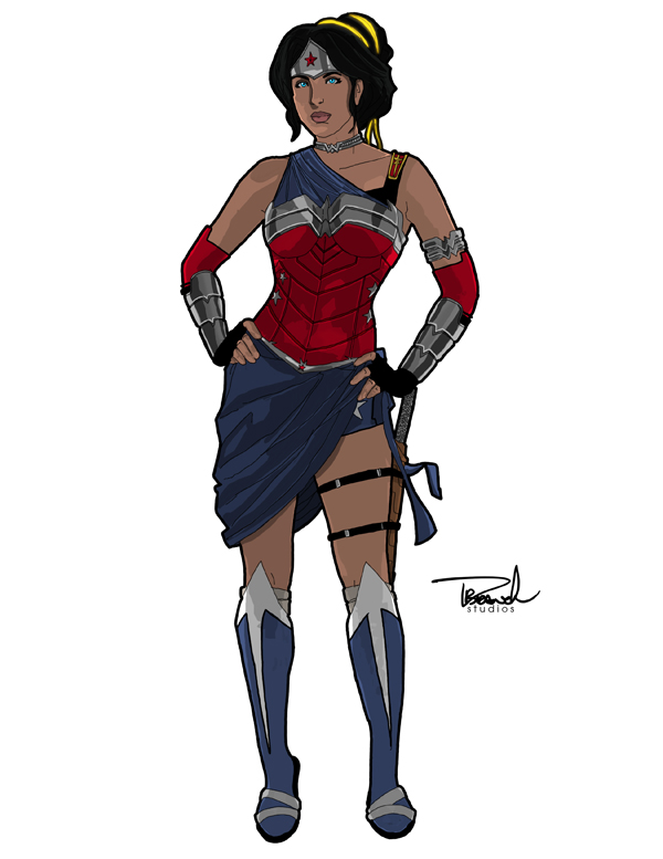 Wonder Woman Redesign by tsbranch
