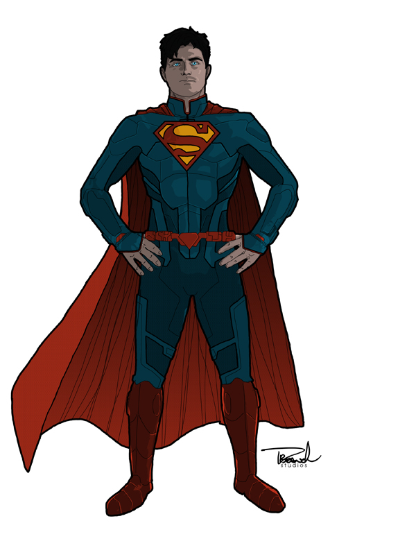 Superman Redesign by tsbranch