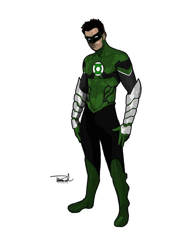 Green Lantern Redesign by tsbranch