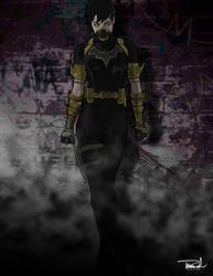 Cassandra Cain aka Batgirl aka Black Bat by tsbranch