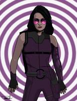 Kate Bishop-Hawkeye by tsbranch