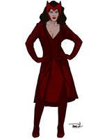 Scarlet Witch by tsbranch