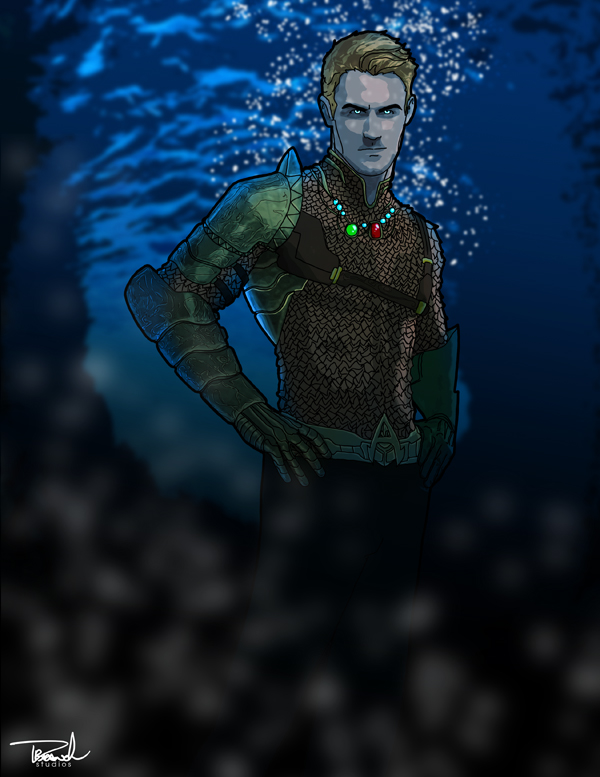 Aquaman by tsbranch