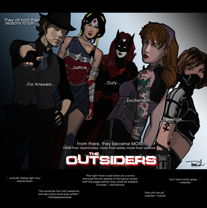 The Outsiders by tsbranch