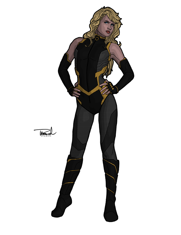 Black Canary 2013 by tsbranch