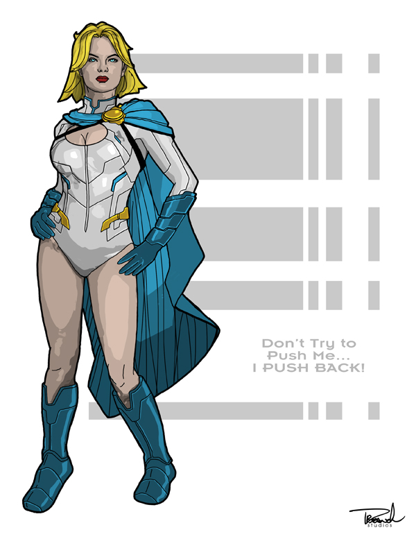Again with the Power Girl by tsbranch