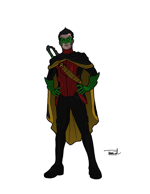 Damian Wayne by tsbranch