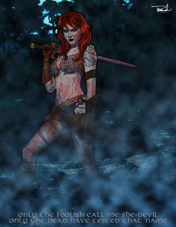 Red Sonja by tsbranch