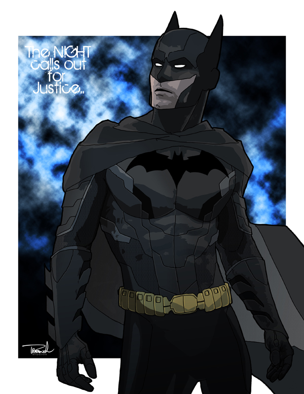 Batman by tsbranch
