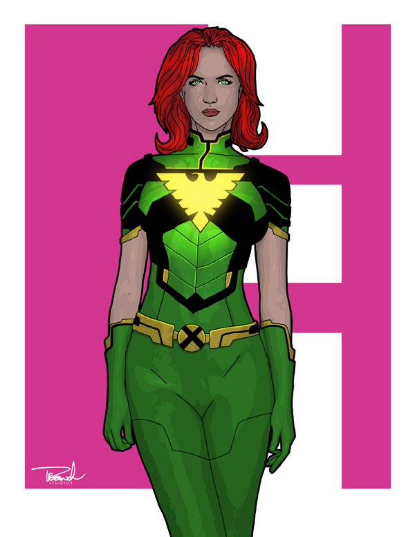 Jean Grey by tsbranch