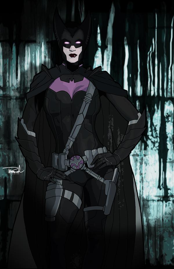 Helena Wayne as Batwoman of Earth-2. by tsbranch