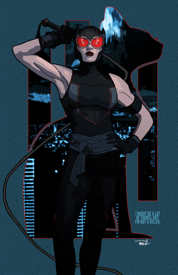 Catwoman 2015 by tsbranch