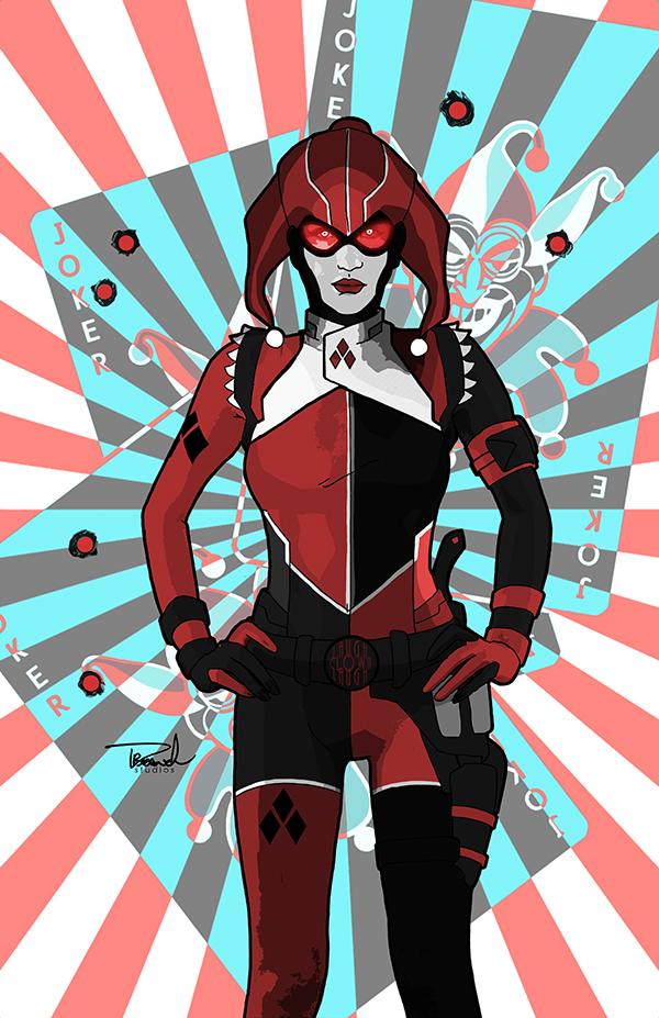 Harley Quinn 2015 by tsbranch