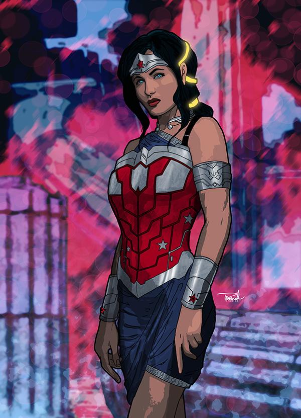 Wonder Woman by tsbranch