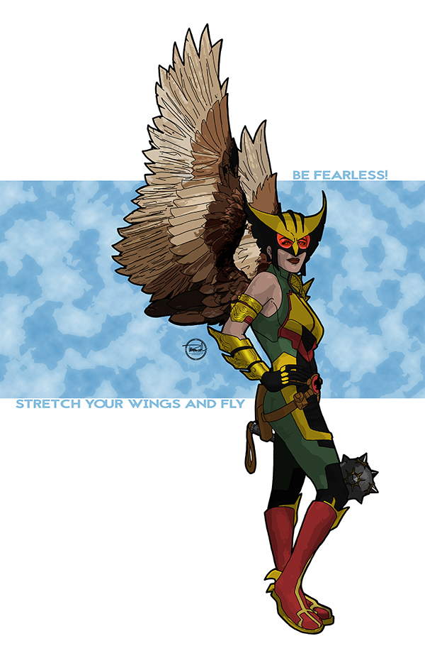 Hawkgirl 2015 by tsbranch