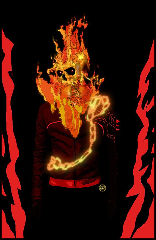 Ghost Rider by tsbranch