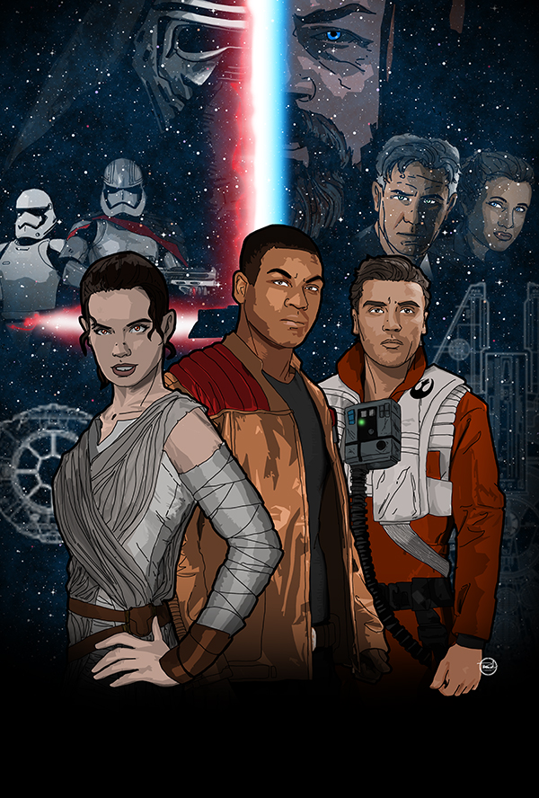 The Force Awakens by tsbranch