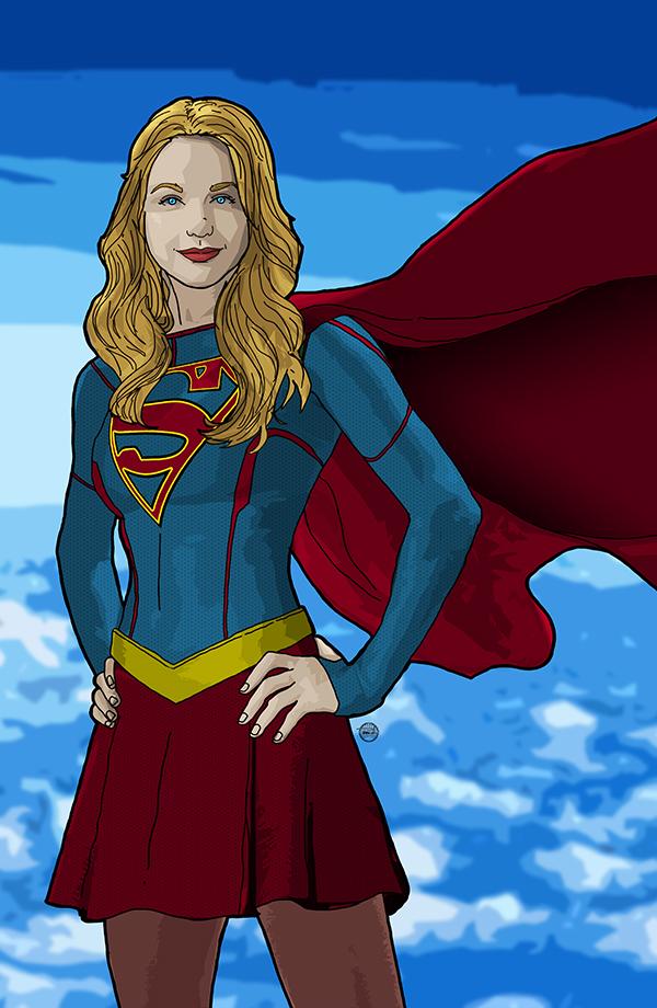Supergirl by tsbranch