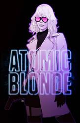 Atomic Blonde by tsbranch