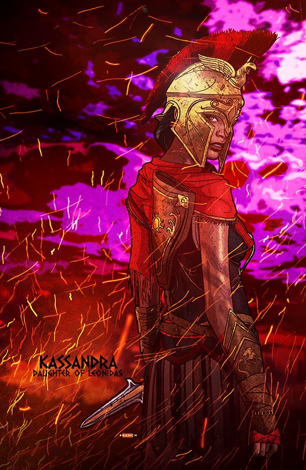 Kassandra from Assassin Creed: Odyssey by tsbranch