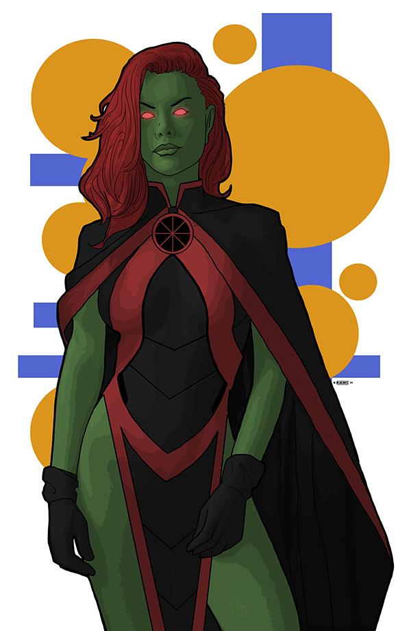 Ms Martian by tsbranch