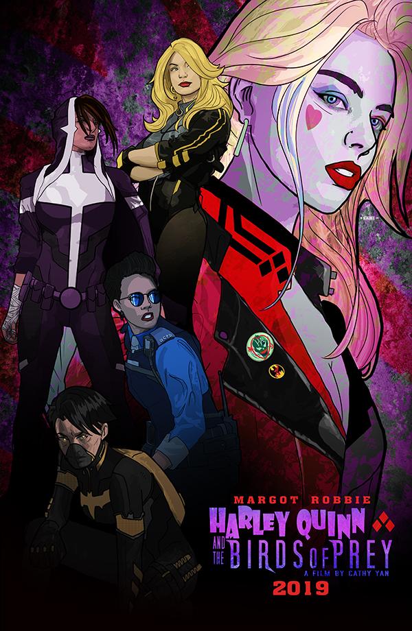 Harley Quinn and the Birds of Prey by tsbranch